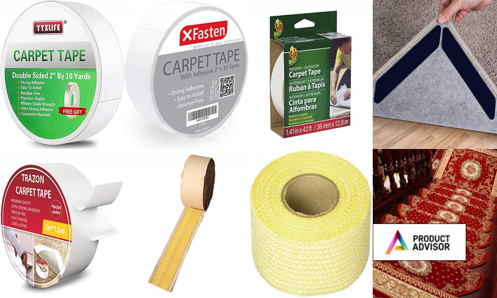 Best Carpet Tapes