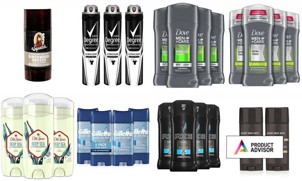Best Deodorants For Men