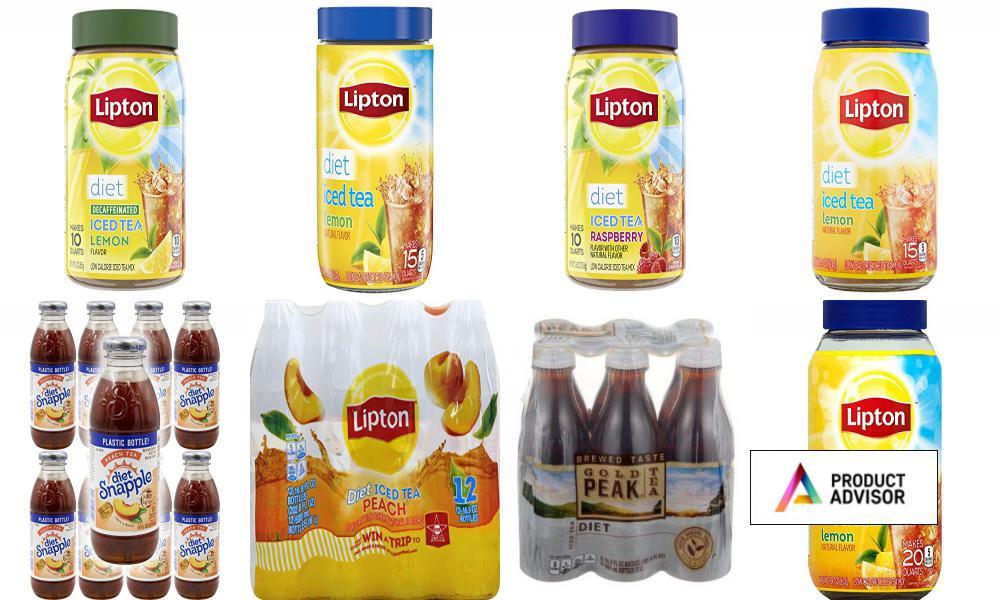 Best Diet Iced Tea Brands
