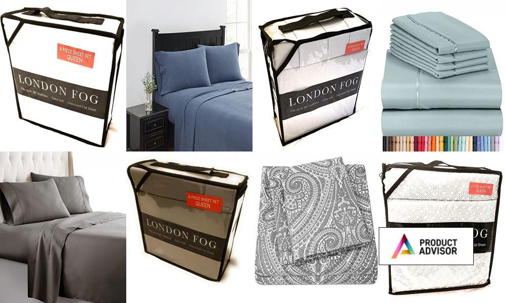Best London Fog Sheet And Pillowcase Sets