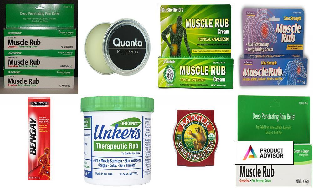 Best Muscle Rubs