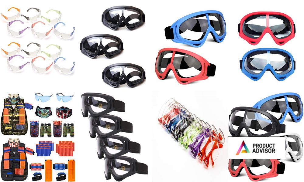 Best Safety Glasses For Nerf Guns