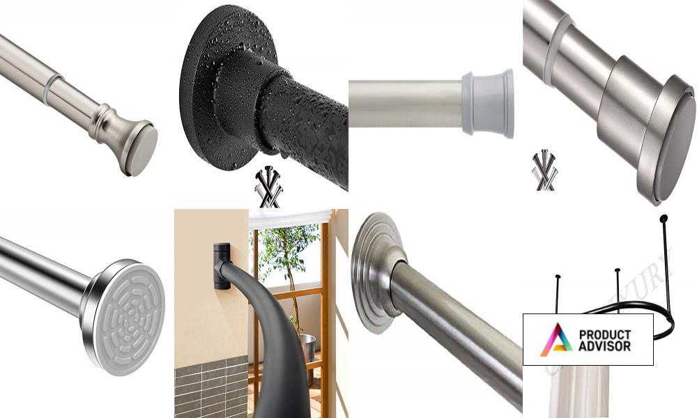 Best Shower Curtain Rods