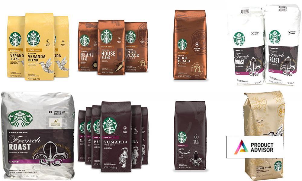 Best Starbucks Whole Bean Coffees