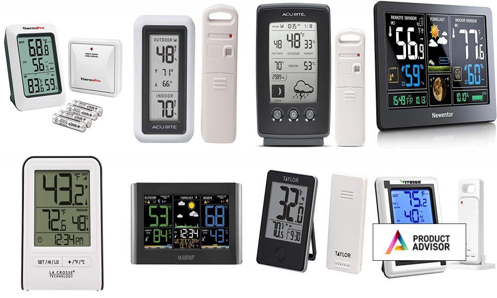 Best Wireless Indoor Outdoor Thermometers